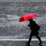 Wet Weather Continues In Auckland